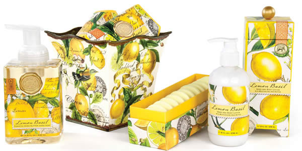 Michel Design Lemon Basil Collection