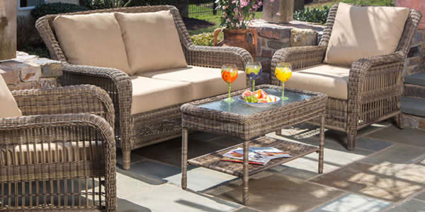 All Weather Wicker Outdoor Furniture Sets