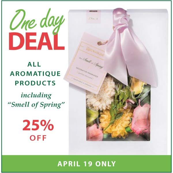 One Day Deal April 19