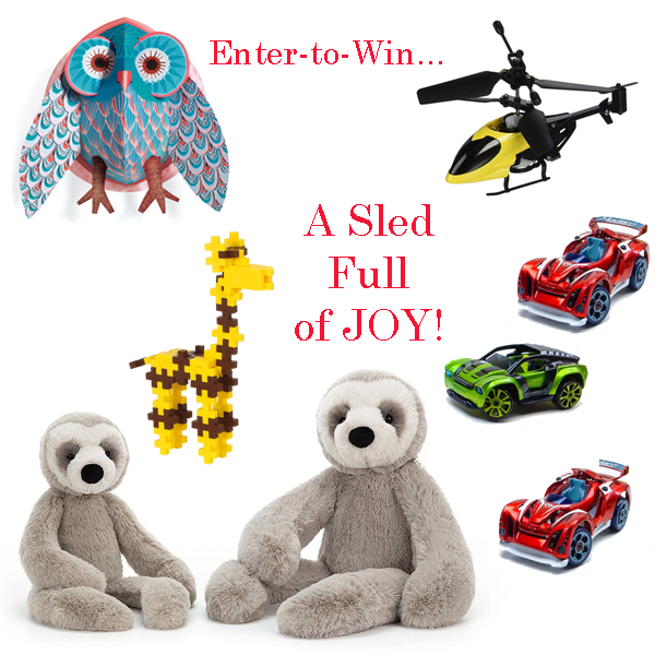 Enter to Win! A Sled Full of Joy