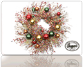 GiftCard Footer Xmas Wreath