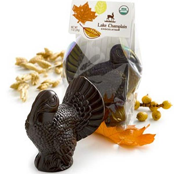Lake Champlain chocolate turkeys