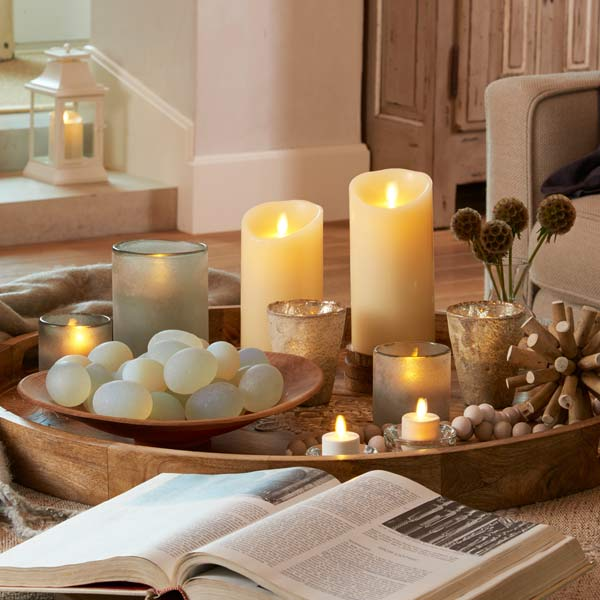 Luminara flameless candles