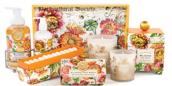 Michel Design Blooms & Bees Collection